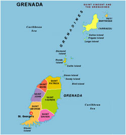 Citizenship By Investment Grenada - Grenada map download